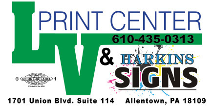 Lehigh Valley Print Center & Harkin Signs