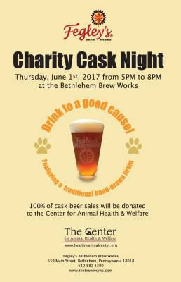 Charity Cask Night