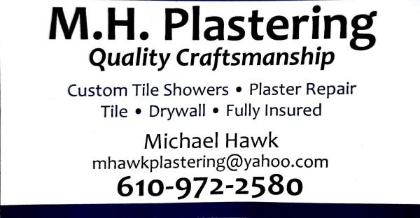 M.H. Plastering