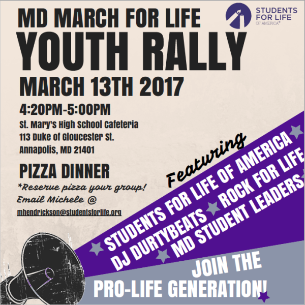 Youth Rally flyer 2017