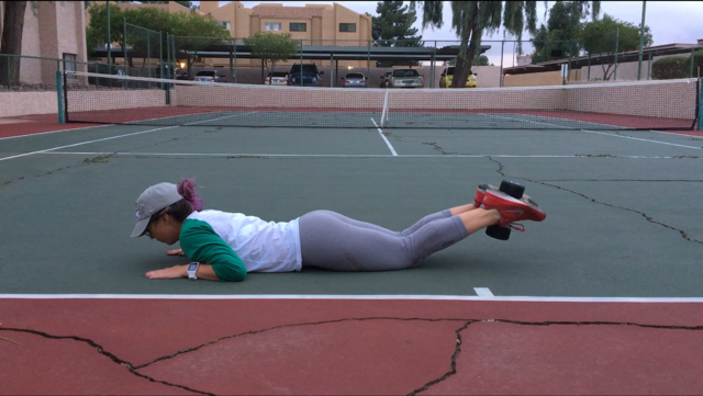 Rockin Around the Tennis Court - I'll Be Fit for Christmas Workout 2