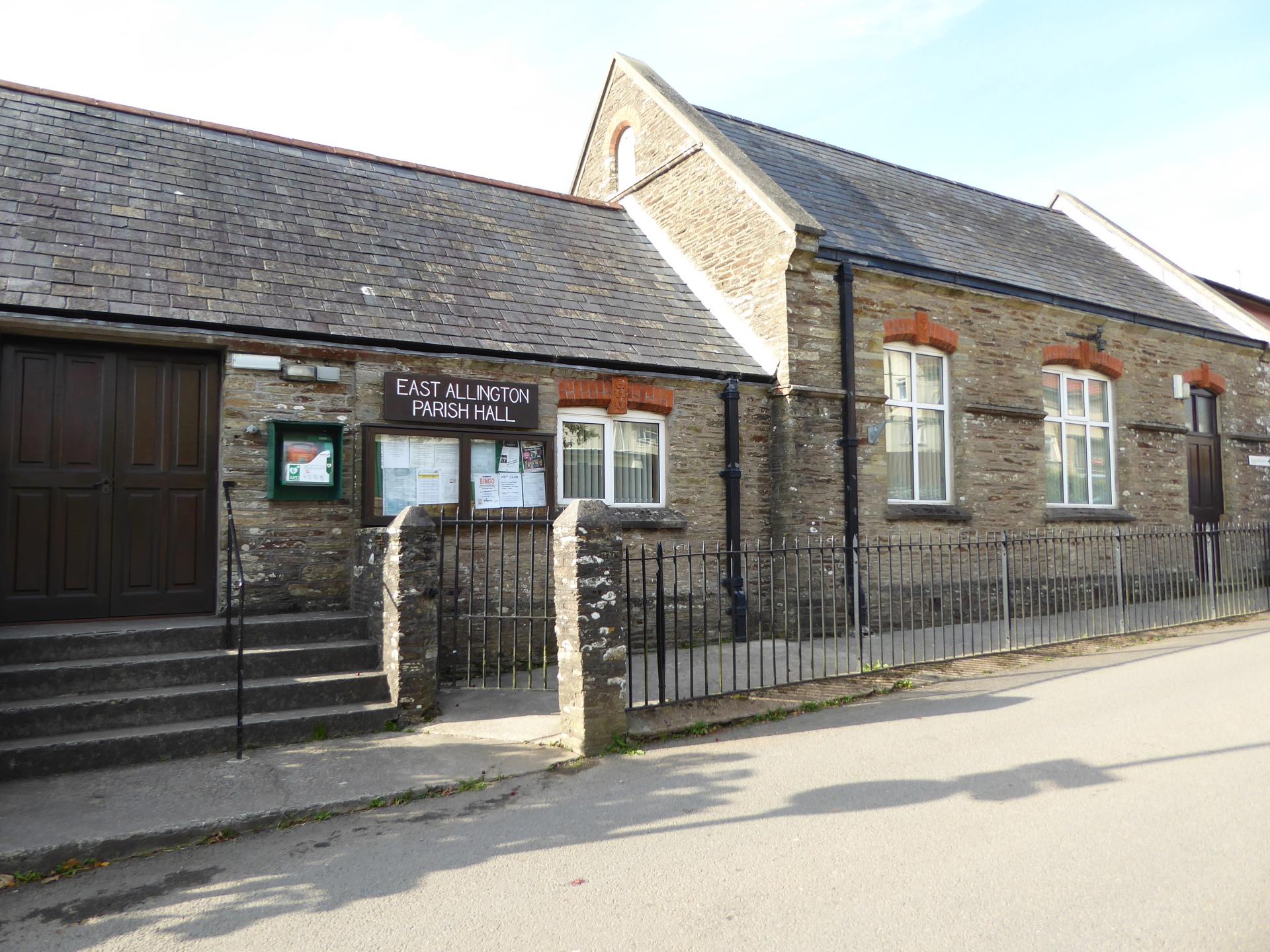 Classes at East Allington Village Hall