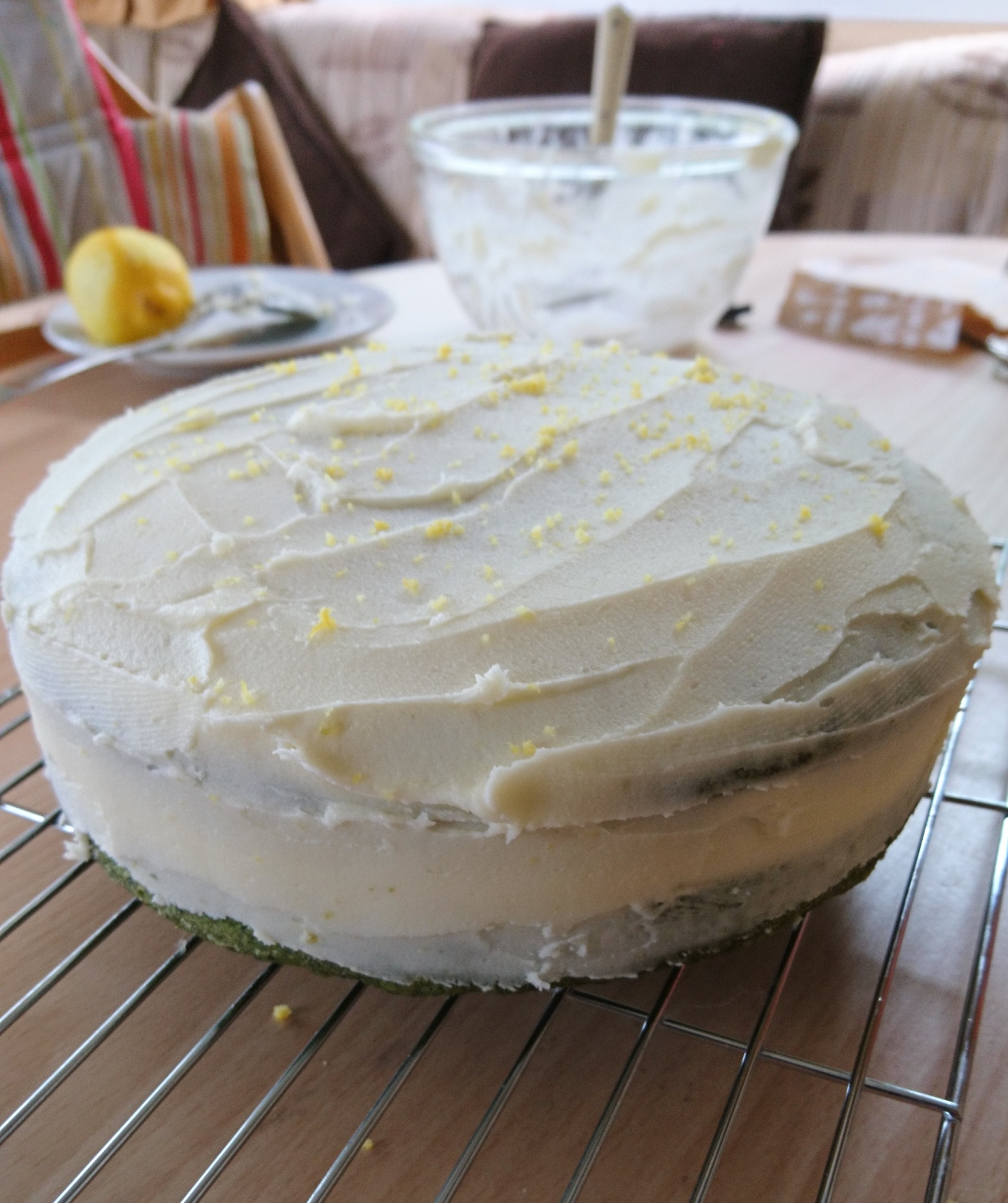 Nettle & Lemon Cake Recipe