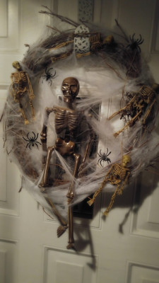 Mr. Bones Wreath