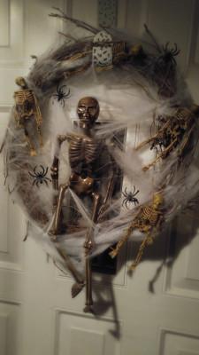 Mr. Bones Wreath