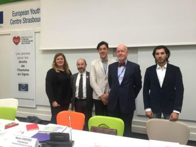 VYRE member takes part in thematic debate at the Council of Europe to talk about young refugees