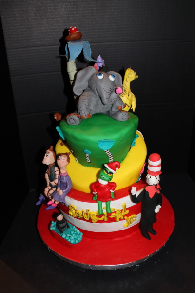 Seussical the Musical cake