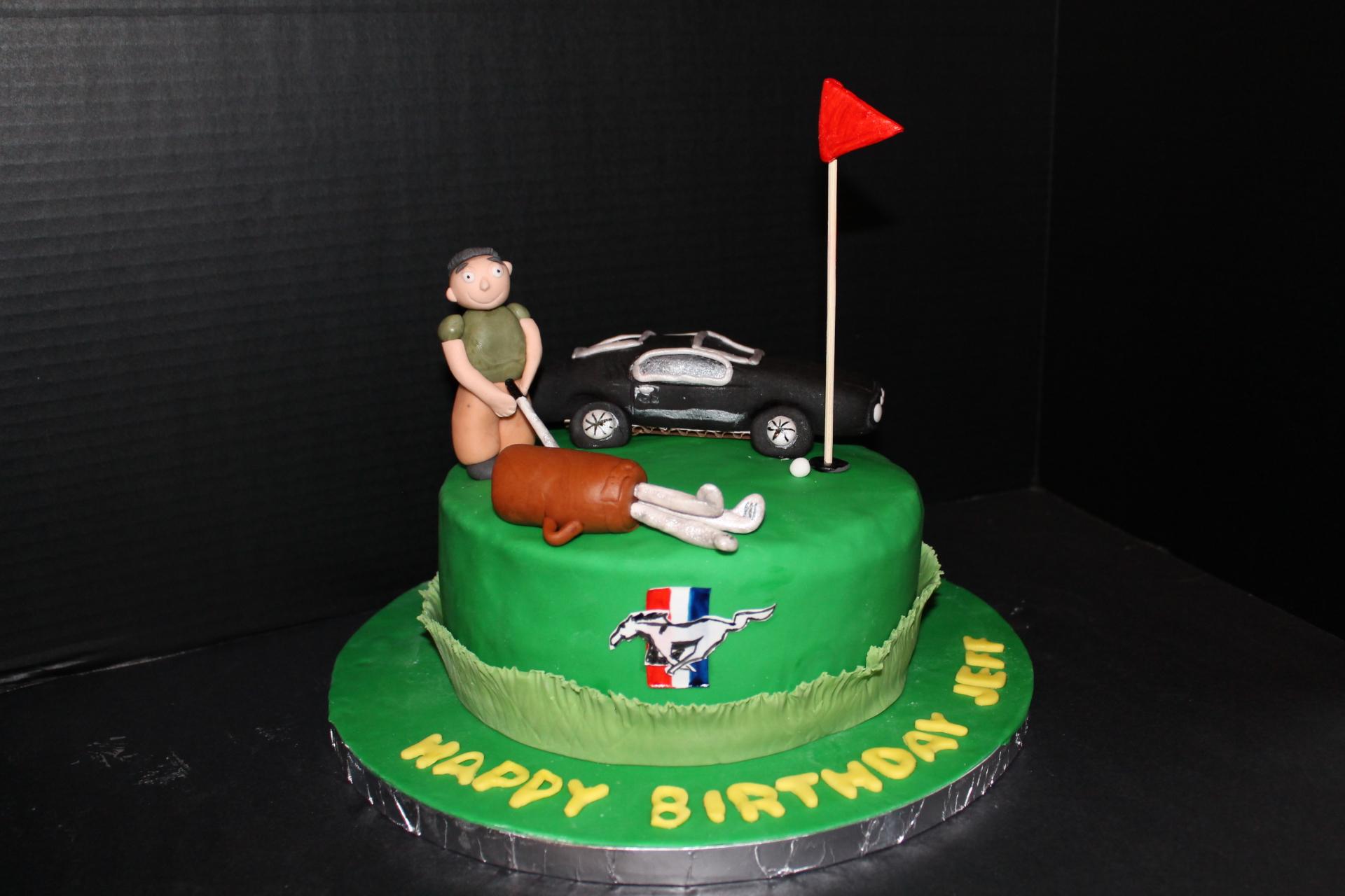 Golf/Mustang Birthday