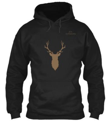 Buy Mens Elk Hunting Hoodie