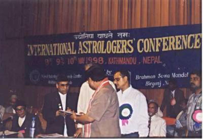 Jyotish Parashar & Jyotish Kaustubh Mani In Kathmandu, Nepal