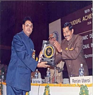 BHARTIYA VASTU NIRMAN RATAN By Hon'ble Central Minister ,Sh. Bacchi Singh Rawat, at New Delhi.