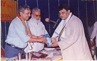 VASTU VIDYA VIBHUSHAN At National Seminar of Vedic Astrology in Ahmedabad.