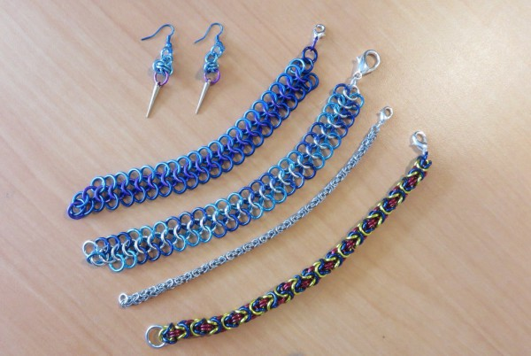 Bill Anderson - Chainmail Jewelry