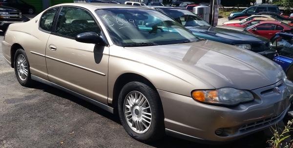 Chevy Monte Carlo $699 - SOLD AS IS