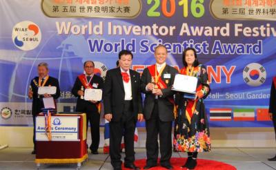 Winner of 2016 WIAF Thomas Edison Inventor Grand Award