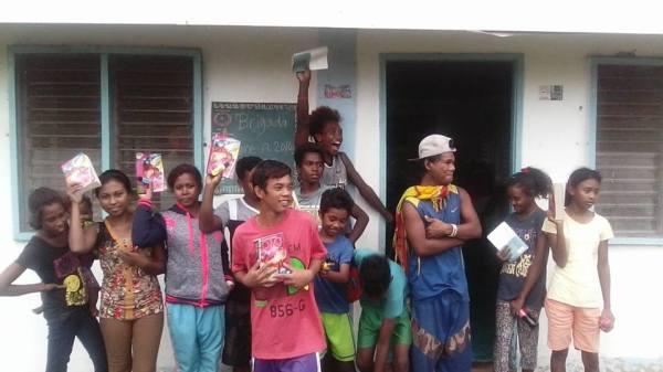 Evangeliskt arbete bland Aetas ungdomar