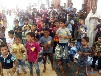 Ungdomsarbete i Indien