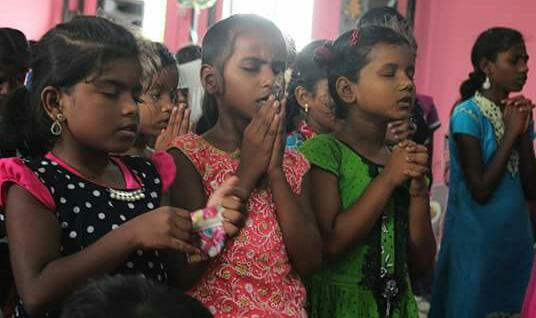 Barnverksamhet Indien - Maj 2017
