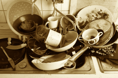 How To Do Your Dishes Without Running Water