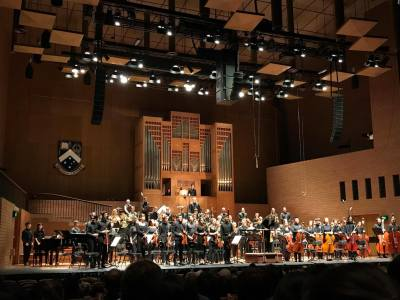 Saint-Saëns: Learning to Play with an Orchestra