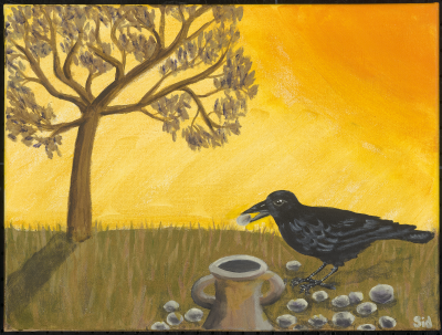 Aesop's Crow and the Pitcher