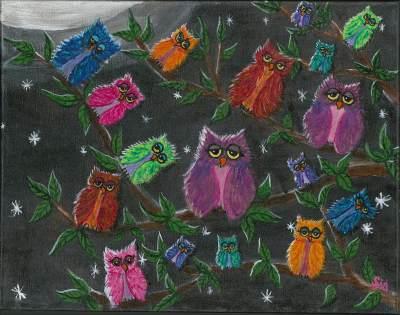 Zany Owls
