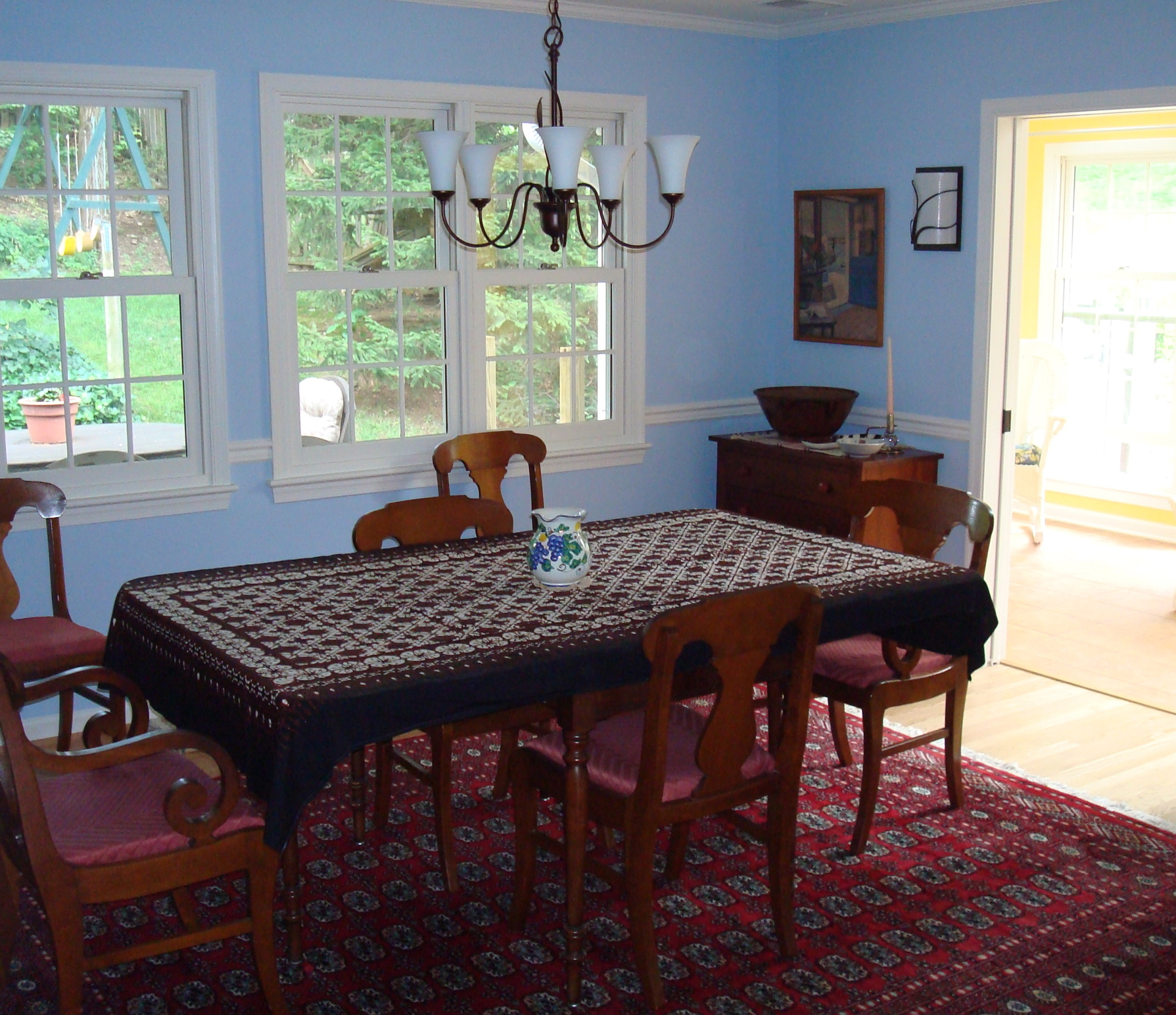 Expanded Dining Room