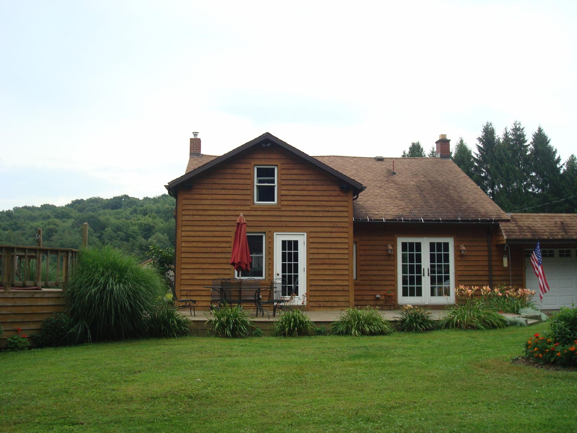Original Front Entry Cabin Site