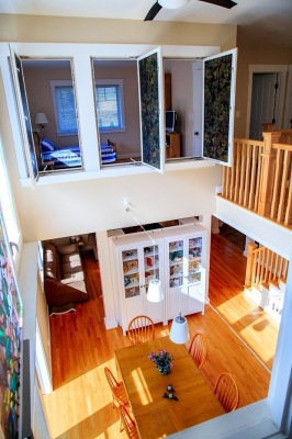 2 Story Dining Space
