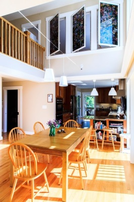 2 story Dining Room