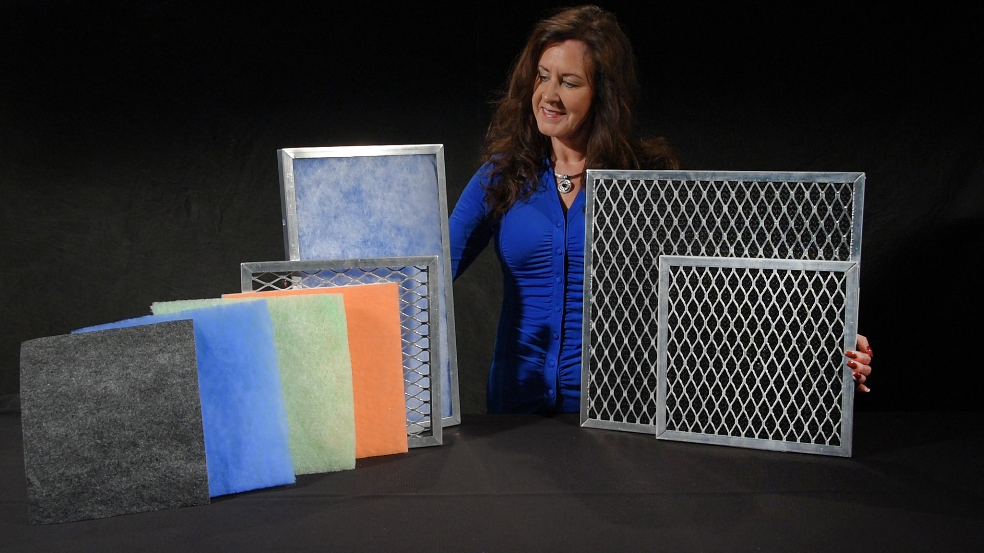 Washable and Disposable Filters with Alluminum frames