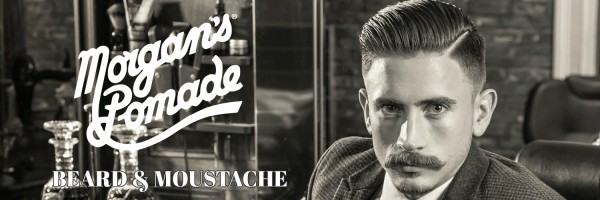 BEARD AND MOUSTACHE, MORGANS, POMADE