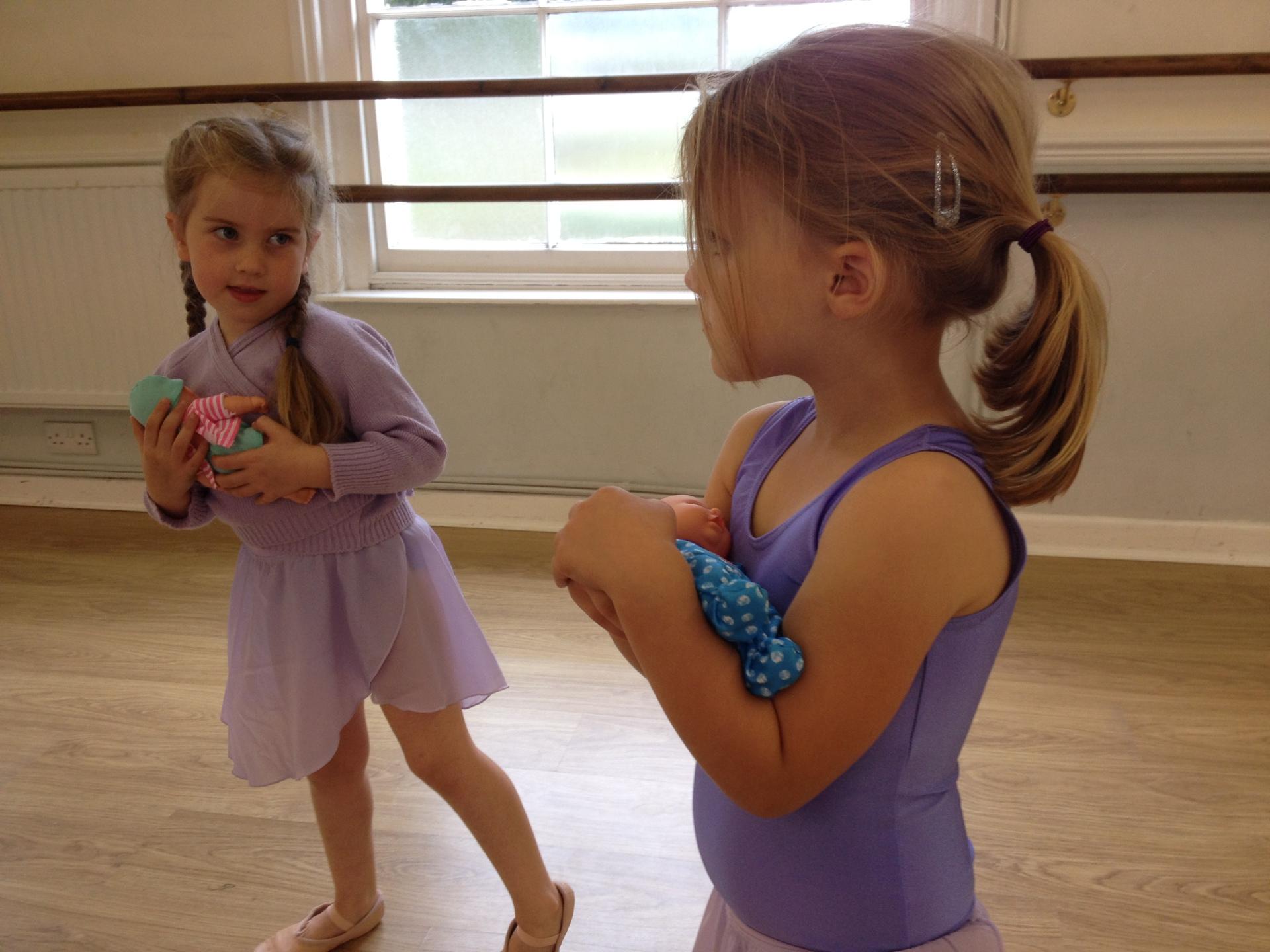 Rocking Babies in Ballet
