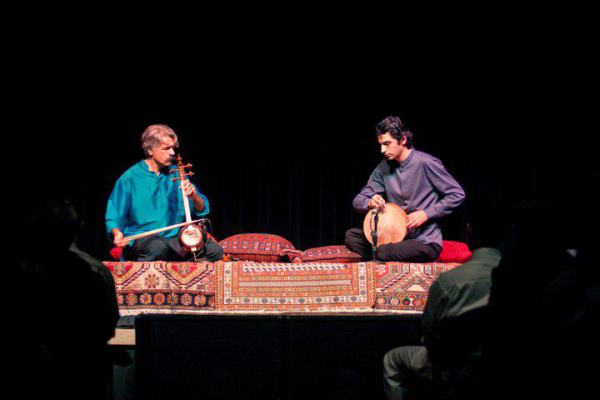 With Kayhan Kalhor
