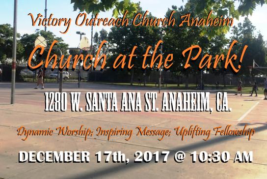 Church at the Park!