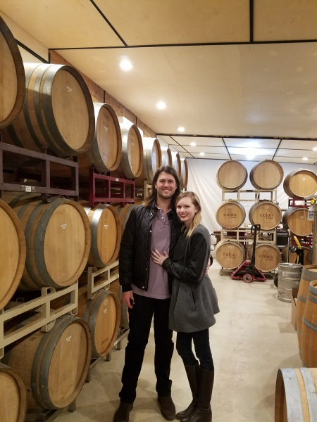 Calais Winery, wine tastings