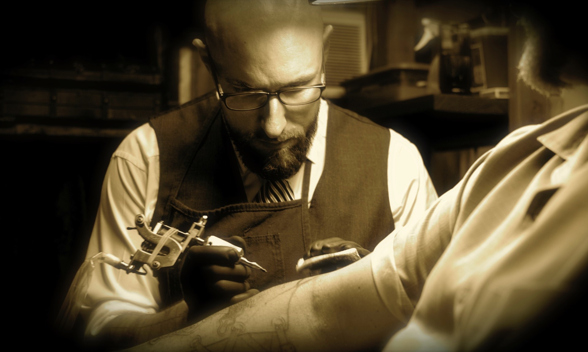 Interviews with Storystars: Scott Glazier of Speakeasy Tattoo