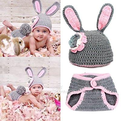 Crochet Bunny Suit
