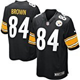 Nike NFL Pittsburgh Steelers Antonio Brown Jersey - Black