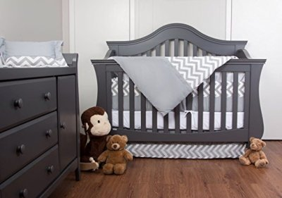 7 piece Crib Chevron  Set