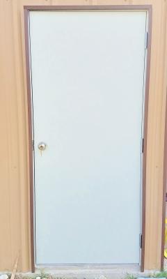 Walk in door