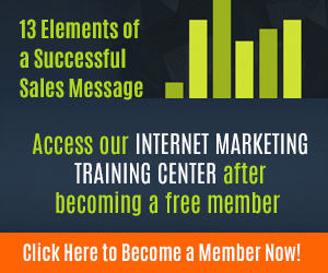 13 Elements of a Successful Sales Message
