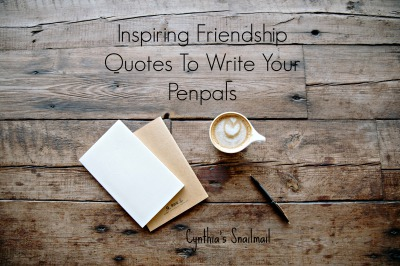 30 More Questions To Ask Your Penpal