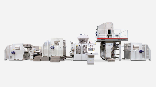 ROTOEXTRUDER 400F - Extrusion coating & laminating line