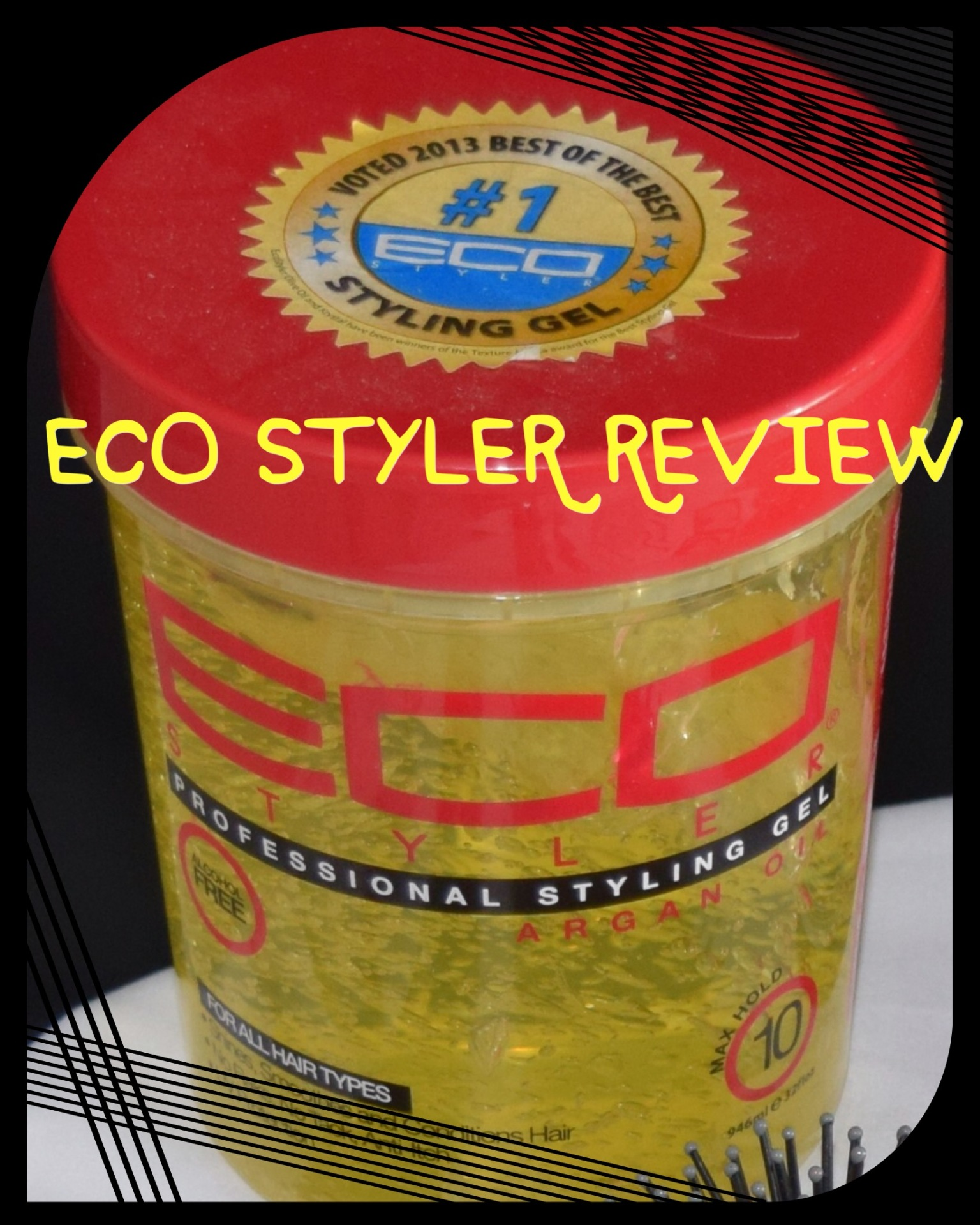 Eco Styler Olive Oil Styling Gel Review