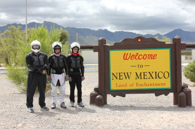 Mathew Tracy Gene Mcintyre Cross Country Yougest person to ride a motorcylce across america worldwide World record