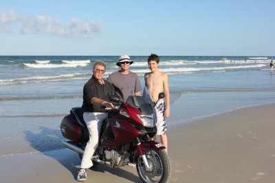 Mathew Tracy Gene Mcintyre Cross Country Yougest person to ride a motorcylce across america World record