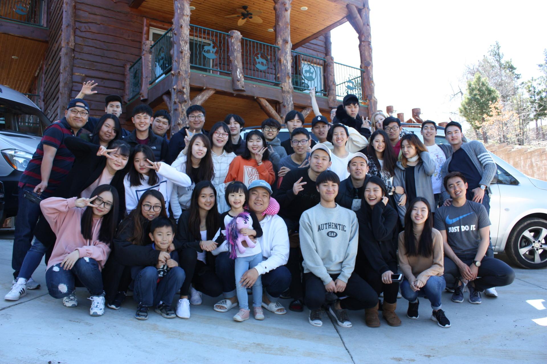 Big Bear trip 단체사진