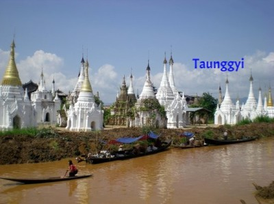 6 Days (A) Yangon - Bagan - Inle Lake - Taunggyi Tour