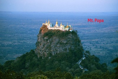 6 Days (C) Yangon-Mandalay-Bagan-Mt. Popa Tour
